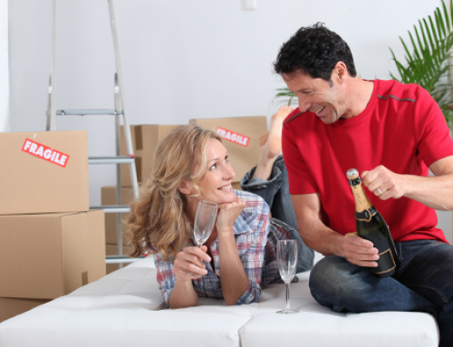 How to reward yourself after a move!